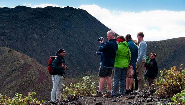senderismo volcanes