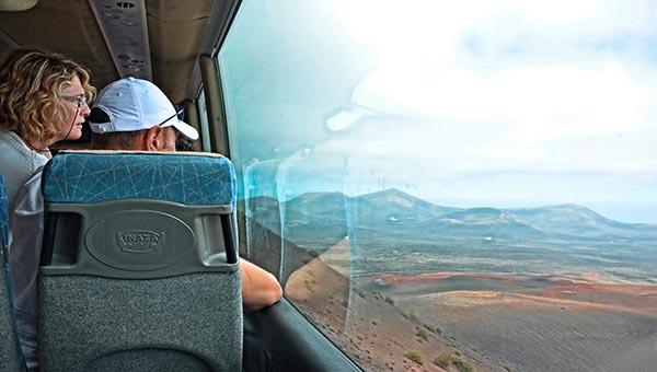 Ruta de medio dia a Timanfaya y la Geria